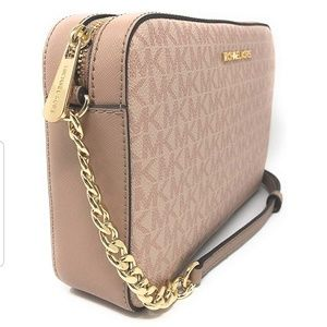 "Michael Kors Bags - ""MICHAEL KORS "" Jet Set CROSSBODY BAG"